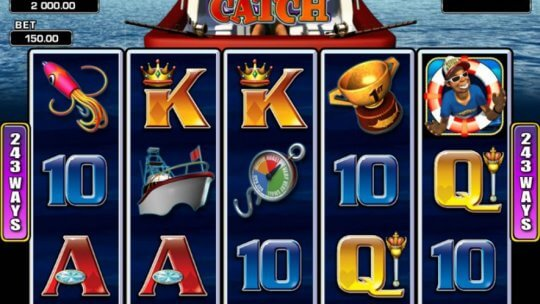 Wild Catch Video Slots Game