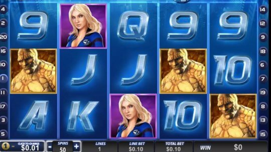Fantastic Four Online Slots Review