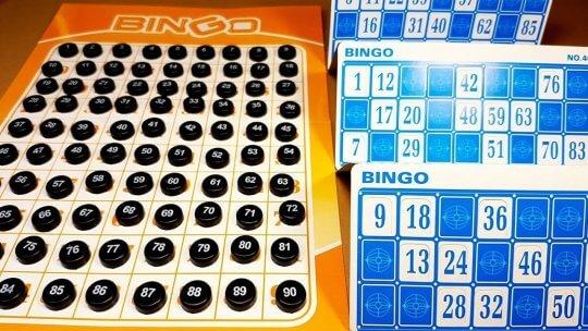 list of bingo table games