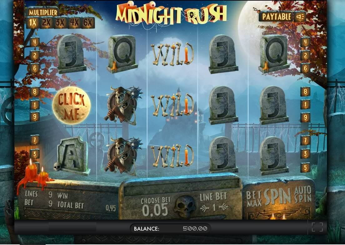 A Guide To The Midnight Rush Slot Game For Beginners